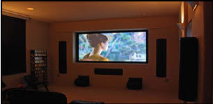 Flat Screen TV with Integrated surround sound